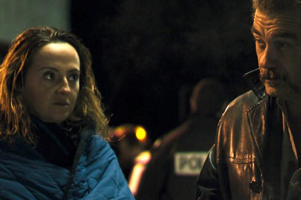 Un roman policier : Photo Marie-Laure Descoureaux, Olivier Marchal, Stephanie Duvivier