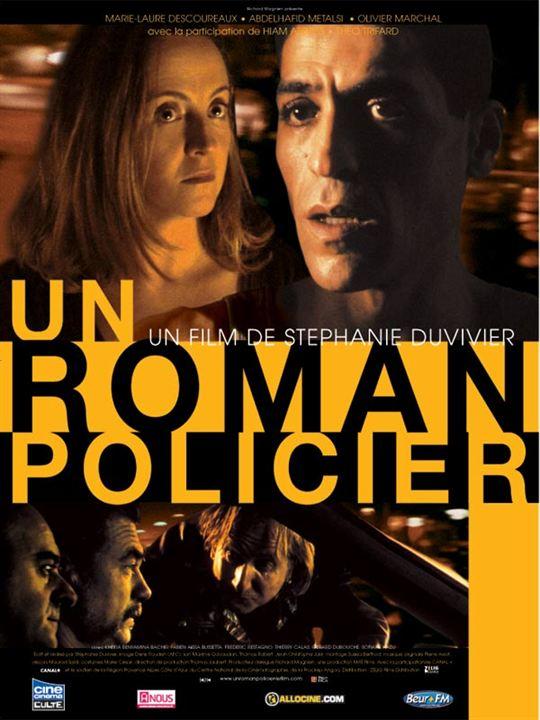Un roman policier : Affiche