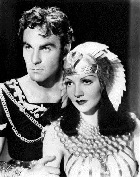 Cléopâtre : Photo Cecil B. DeMille, Claudette Colbert, Henry Wilcoxon