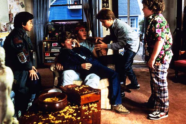Les Goonies : Photo Corey Feldman, Jeff Cohen, Jonathan Ke Quan, Sean Astin