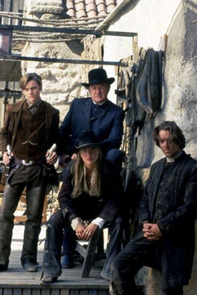 Mort ou vif : Photo Gene Hackman, Leonardo DiCaprio, Russell Crowe, Sharon Stone