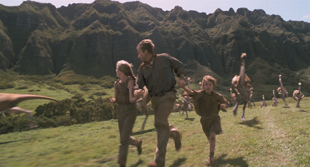 Jurassic Park : Photo Ariana Richards, Joseph Mazzello, Sam Neill