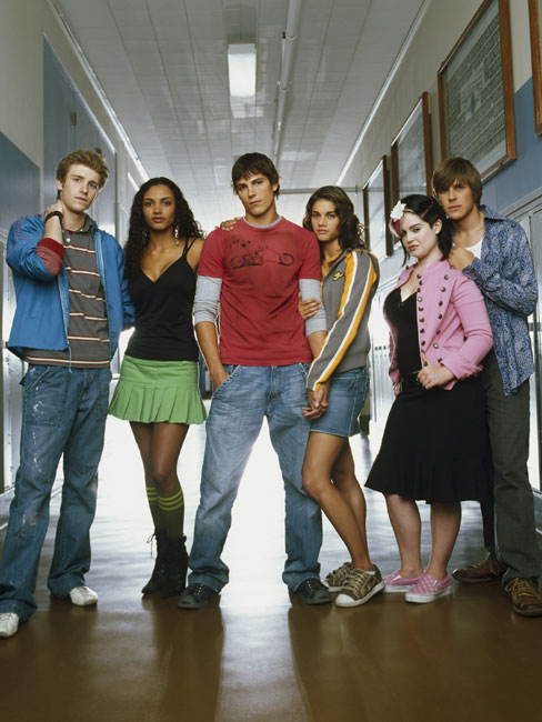 La Vie comme elle est : Photo Chris Lowell, Jessica Lucas, Jon Foster, Kelly Osbourne, Missy Peregrym