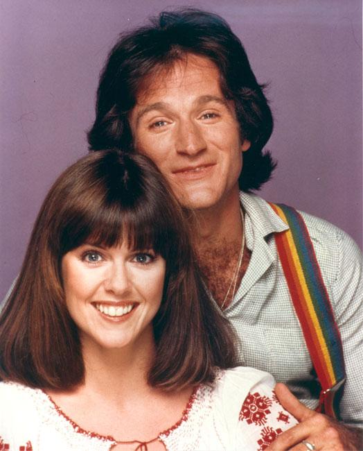 Mork and Mindy : Photo Pam Dawber, Robin Williams