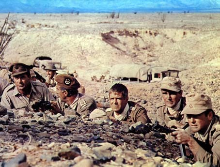 Tobruk : Photo Arthur Hiller, George Peppard, Robert Wolders, Rock Hudson