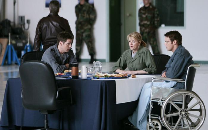 Stargate SG-1 : Photo Amanda Tapping, Ben Browder, Michael Shanks (I)