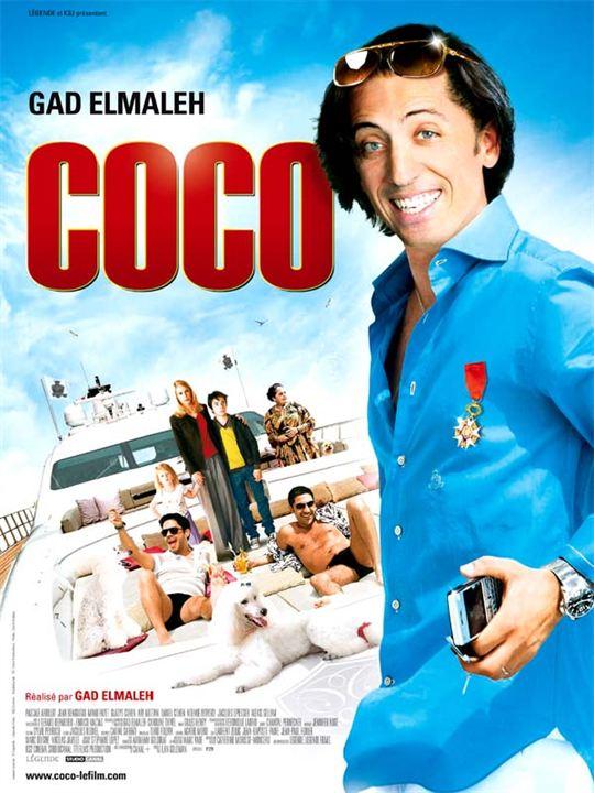 Coco : Affiche Gad Elmaleh, Manu Payet