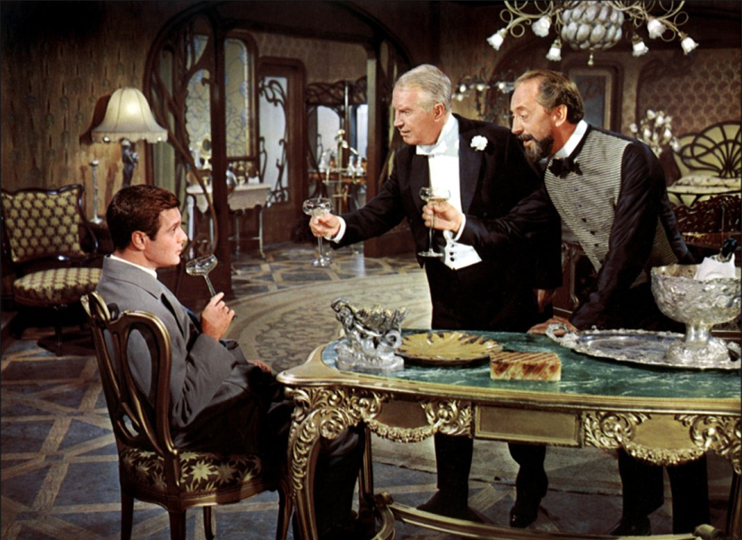 Gigi : Photo Edwin Jerome, Louis Jourdan, Maurice Chevalier
