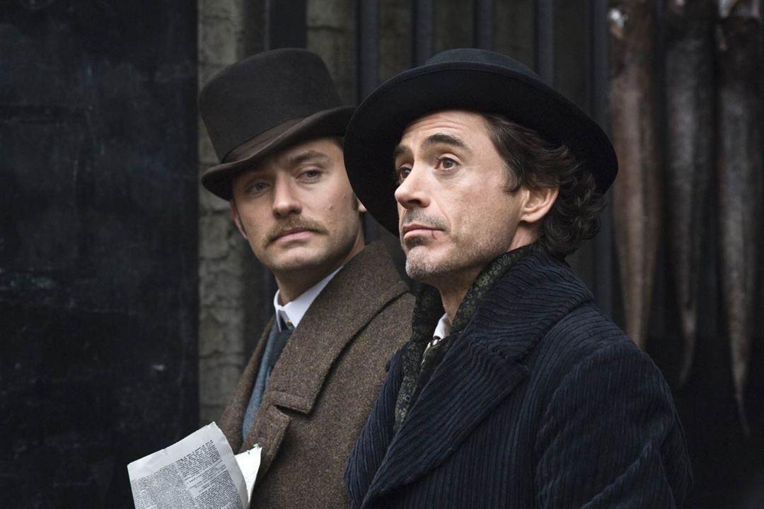 Sherlock Holmes : Photo Jude Law, Robert Downey Jr.