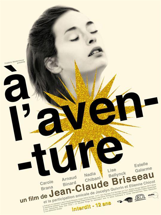 A l'aventure : Affiche Jean-Claude Brisseau