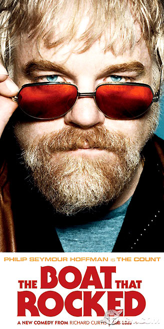 Good Morning England : Affiche Philip Seymour Hoffman