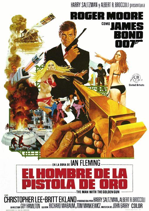 L'Homme au pistolet d'or : Affiche