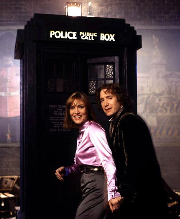 Doctor Who : Photo Daphne Ashbrook, Paul McGann
