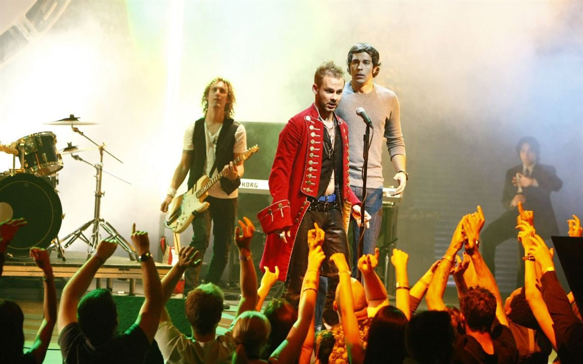 Chuck : Photo Dominic Monaghan, Zachary Levi