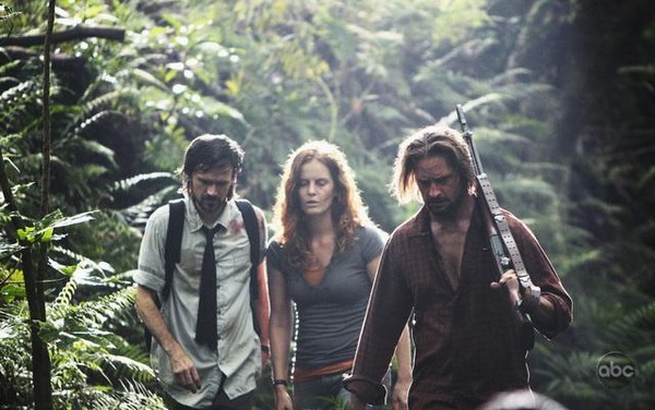 Lost, les disparus : Photo Jeremy Davies, Josh Holloway, Rebecca Mader
