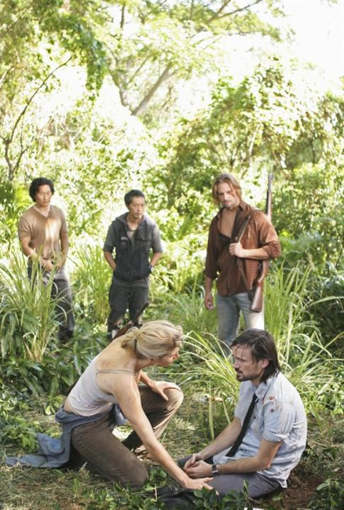 Lost, les disparus : Photo Daniel Dae Kim, Elizabeth Mitchell, Jeremy Davies, Josh Holloway, Ken Leung