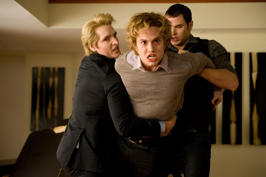 Twilight - Chapitre 2 : tentation : Photo Jackson Rathbone, Kellan Lutz, Peter Facinelli, Stephenie Meyer