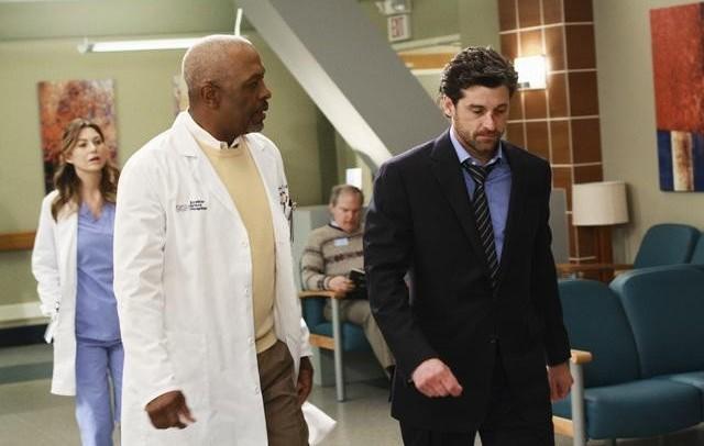Grey's Anatomy : Photo Ellen Pompeo, James Pickens Jr., Patrick Dempsey