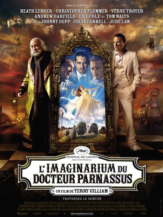 L'Imaginarium du Docteur Parnassus : Affiche Terry Gilliam