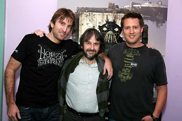 District 9 : Photo Neill Blomkamp, Peter Jackson, Sharlto Copley
