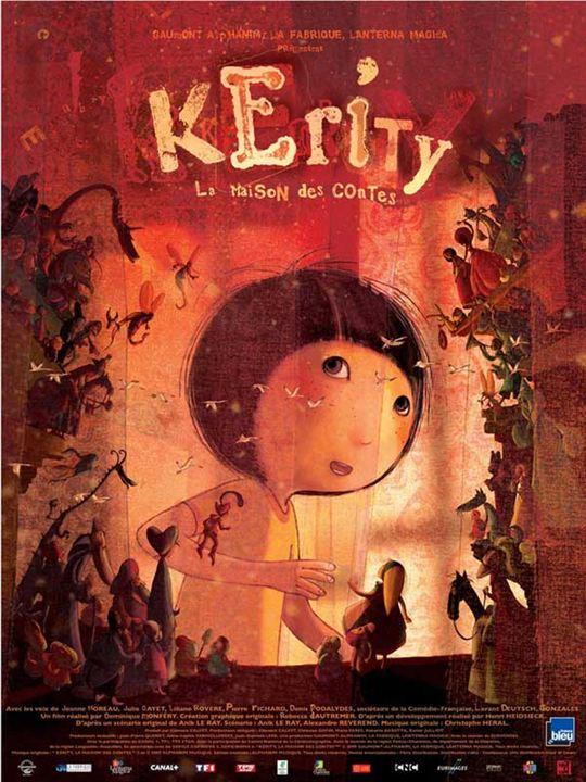 Kérity la maison des contes : Affiche Dominique Monféry