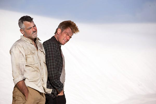 Les Chèvres du Pentagone : Photo Ewan McGregor, George Clooney, Grant Heslov