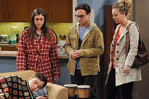Photo Jim Parsons, Johnny Galecki, Kaley Cuoco, Mayim Bialik