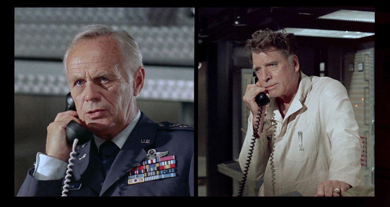 L'Ultimatum des trois mercenaires : Photo Burt Lancaster, Leif Erickson