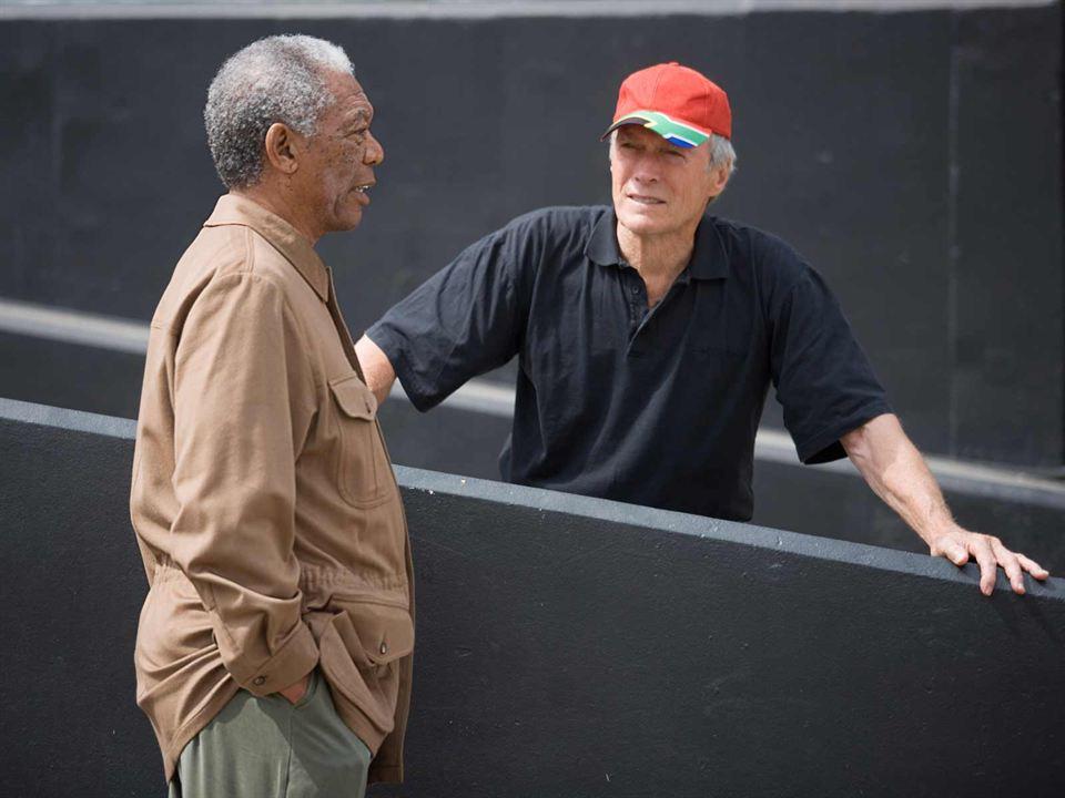 Photo de Morgan Freeman - Invictus : Photo Clint Eastwood ...