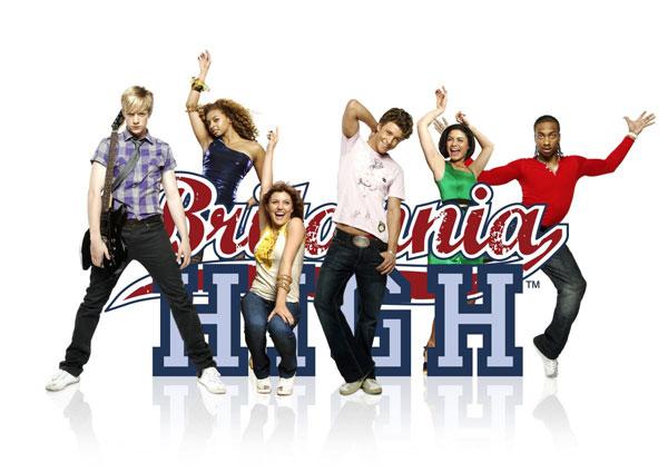 Britannia High : Photo Georgina Hagen, Marcquelle Ward, Matthew James Thomas, Mitch Hewer, Rana Roy