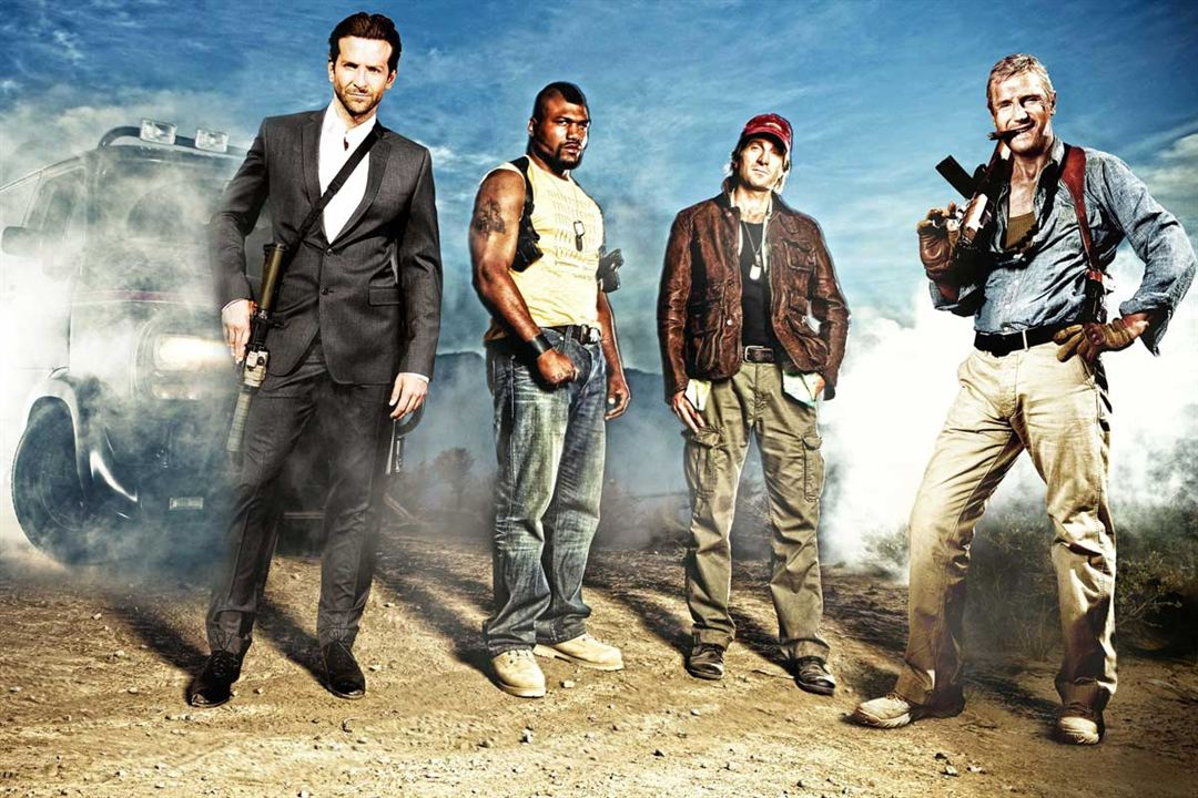 L'Agence tous risques : Photo Bradley Cooper, Liam Neeson, Quinton Rampage Jackson, Sharlto Copley
