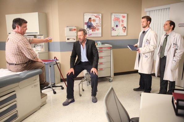 Photo Hugh Laurie, Jesse Spencer, John Scurti, Peter Jacobson