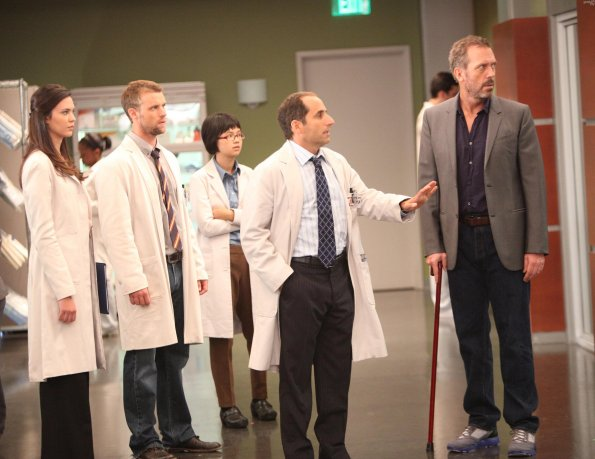 Photo Charlyne Yi, Hugh Laurie, Jesse Spencer, Odette Annable, Peter Jacobson
