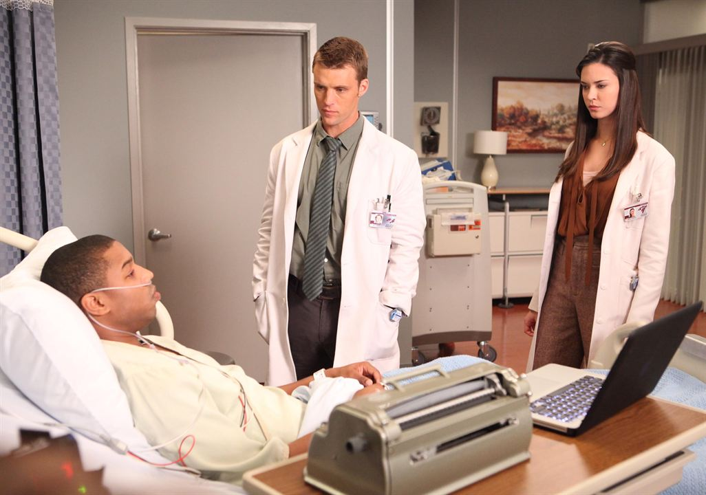 Photo Jesse Spencer, Michael B. Jordan, Odette Annable