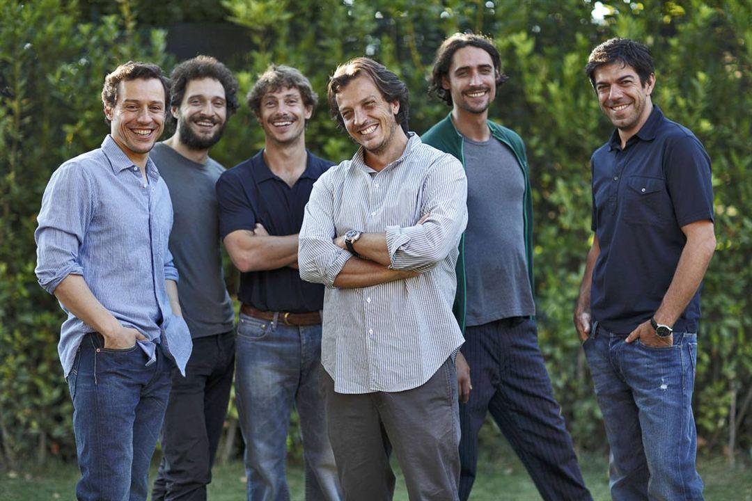 Encore un baiser : Photo Adriano Giannini, Claudio Santamaria, Giorgio Pasotti, Marco Cocci, Pierfrancesco Favino