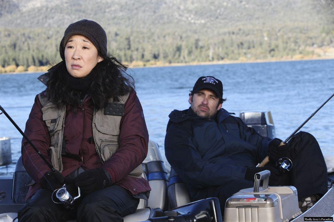 Grey's Anatomy : Photo Patrick Dempsey, Sandra Oh
