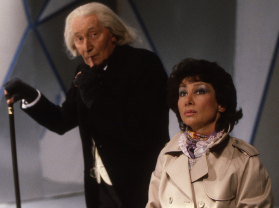 Doctor Who (1963) : Photo Carole Ann Ford, Richard Hurndall