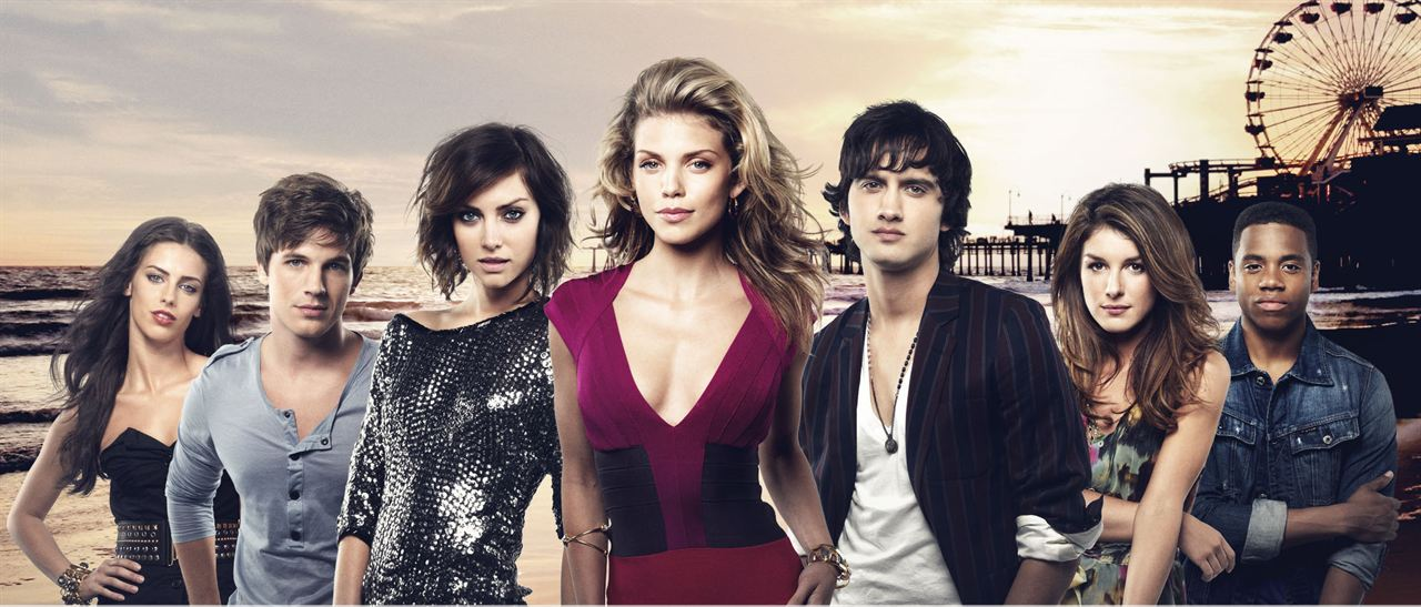 90210 Beverly Hills Nouvelle Génération : Photo AnnaLynne McCord, Jessica Lowndes, Jessica Stroup, Matt Lanter, Michael Steger