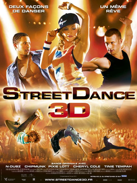 StreetDance 3D : affiche Max Giwa