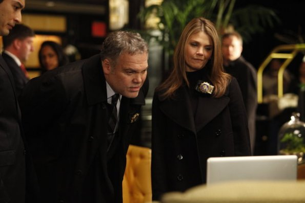 Photo Kathryn Erbe, Vincent D'Onofrio