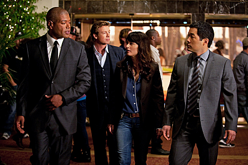 Photo Christopher Judge, Robin Tunney, Simon Baker, Tim Kang
