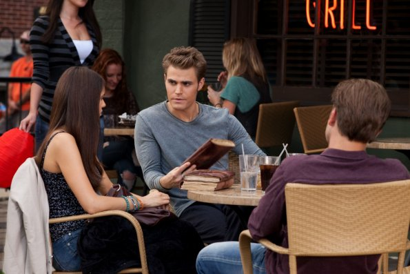 Photo Matthew Davis, Nina Dobrev, Paul Wesley