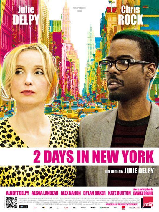 2 Days In New York : Affiche
