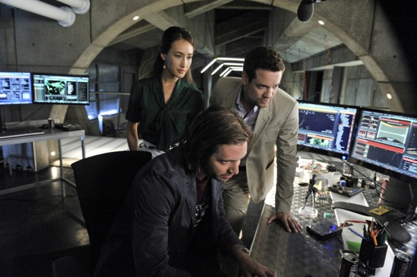 Photo Aaron Stanford, Maggie Q, Shane West