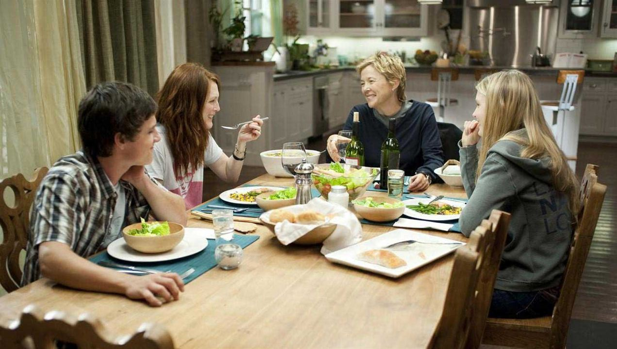 Tout va bien, The Kids Are All Right : Photo Annette Bening, Josh Hutcherson, Julianne Moore, Lisa Cholodenko, Mia Wasikowska