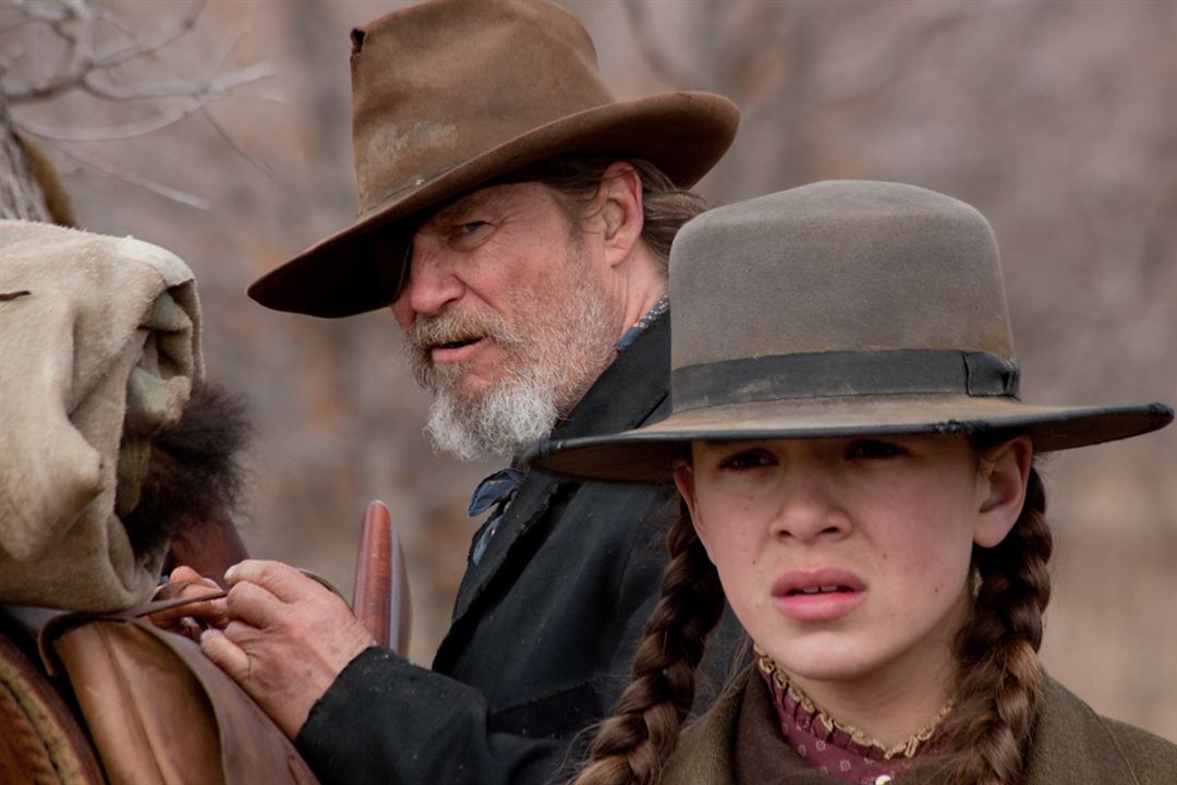 True Grit : Photo Hailee Steinfeld, Jeff Bridges