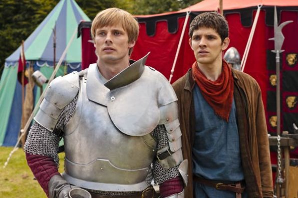 Photo Bradley James (II), Colin Morgan (II)
