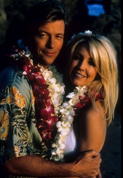 Photo Heather Locklear, Jack Wagner