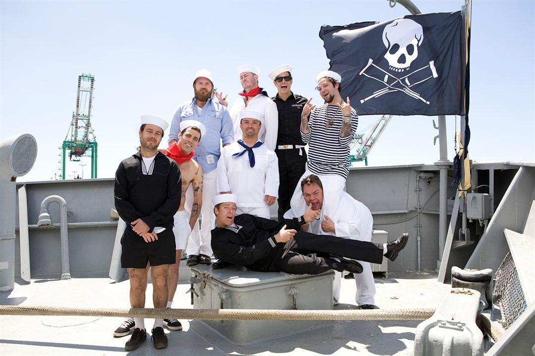 Jackass 3D : Photo Bam Margera, Chris Pontius, Dave England, Ehren McGhehey, Jason Acuña