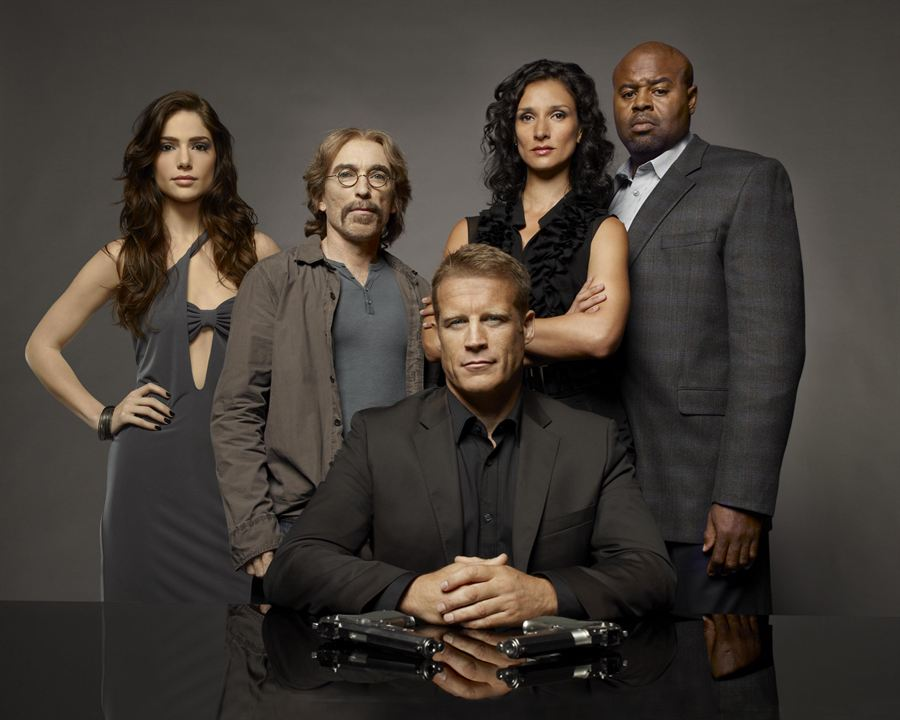 Human Target : la cible : Photo Chi McBride, Indira Varma, Jackie Earle Haley, Janet Montgomery, Mark Valley